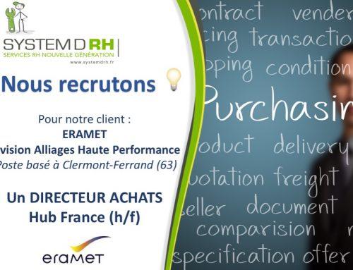 ERAMET – Directeur Achats Hub France (H/F)