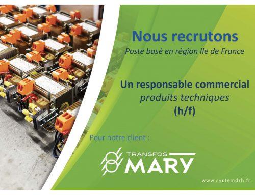 Opportunité #CDI Ile de France – Responsable Commercial (h/f)